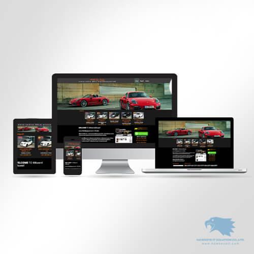 เว็บไซต์ขายรถมือสอง สำเร็จรูป โดย hawkeye it solution